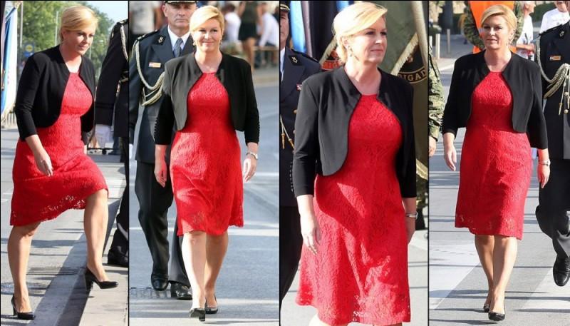 Kolinda Grabar-Kitarović, née le 29 avril 1968, est présidente de la République depuis le 18 février 2015. De quel pays ?