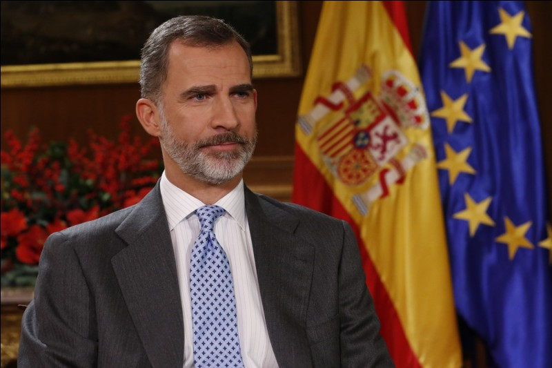 Felipe VI, roi d'Espagne, est né le 30 janvier 1968. En quelle année est-il devenu est roi ?