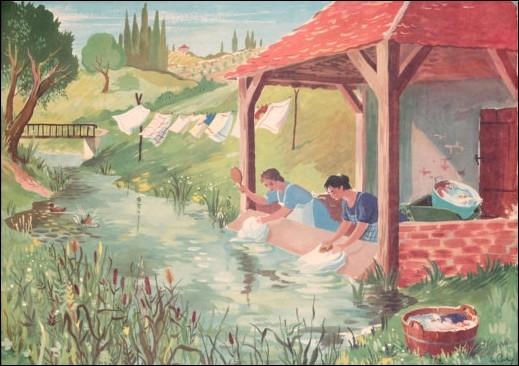 Un verbe du premier groupe est conjugué à la 2e personne du singulier du présent de l'indicatif (exemple : laver). Quelle est sa terminaison ?