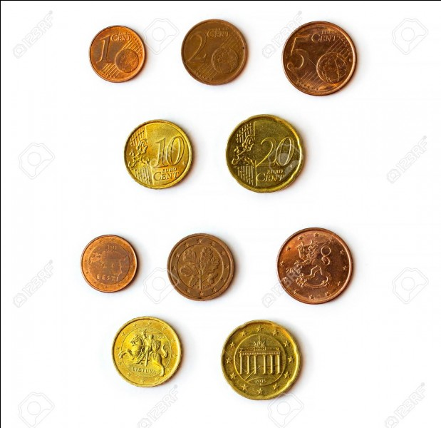 Sur quelle pièce de monnaie italienne est représenté le Colisée ?