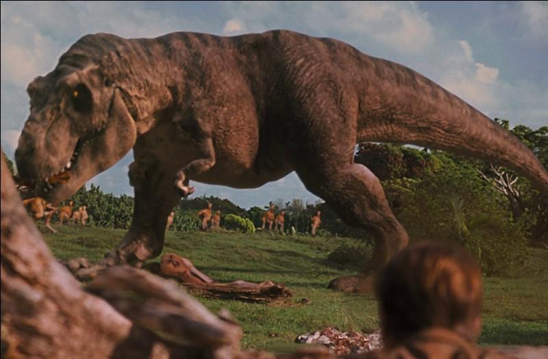 Où le T-Rex mâle sera-t-il transporté ?