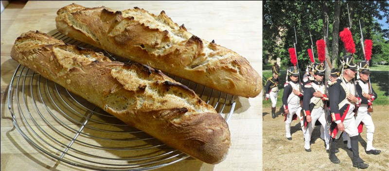 Parlons de la « baguette », ce pain tout en longueur !Il existe plusieurs origines possibles. Ne parlons pas de sa recette mais de sa forme !Quelle est cette première origine probable ?