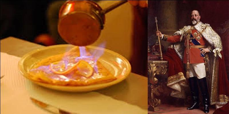 Continuons avec la crêpe et parlons plus spécifiquement de la « crêpe Suzette » !Il existe plusieurs versions concernant sa création, quelques-unes d'entre elles impliquent le prince de Galles et futur roi Edouard VII. Tout ce que je peux vous dire, c'est que cela ne concerne pas Cambrai, bien que…A vous de trouver une de ces versions ?