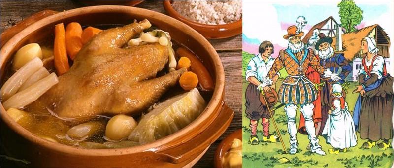 D'où vient la légende de la poule au pot d'Henri IV ?