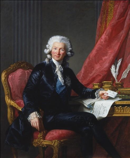 Quel ministre précipita les finances de la France dans une banqueroute en 1793 ?