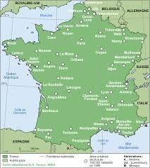 Saurez-vous situer ces communes ? (1516)