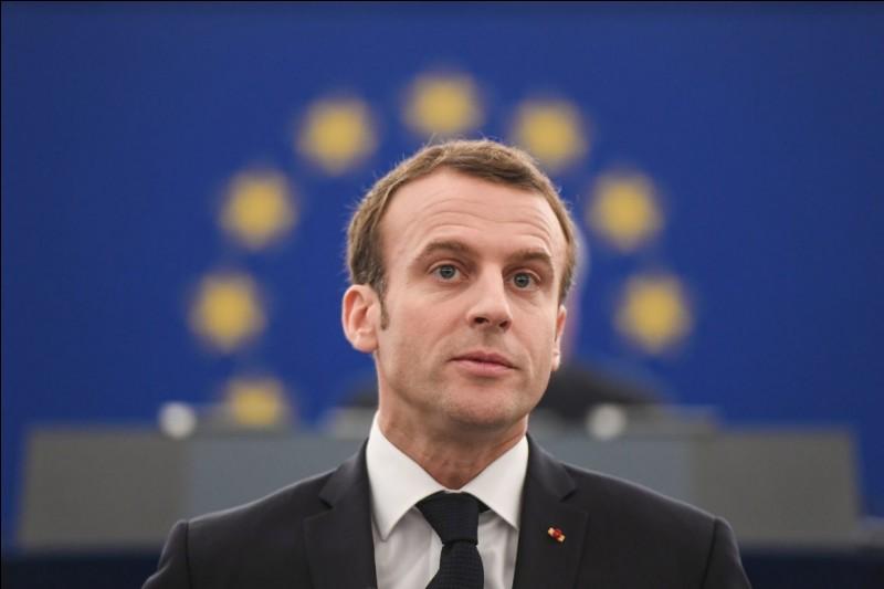 Qui est le président de la France en 2018 ?