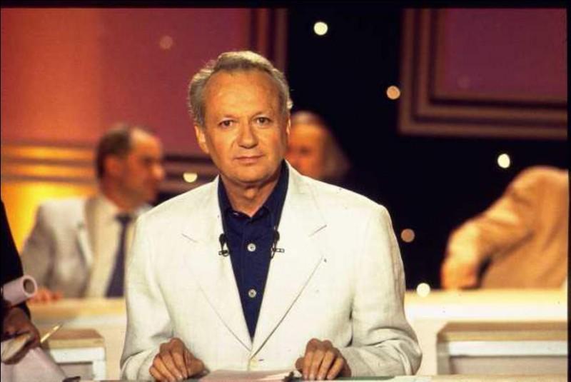 Quel nom portait l'émission TV produite par Jean-Marie Cavada ?