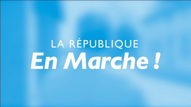 """Qui a fondé """"La République en marche"""" ?"""