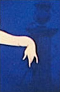 Les mains des personnages Disney