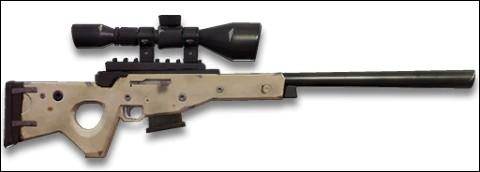 De quelle couleur ne peut pas être le sniper semi-automatique ?