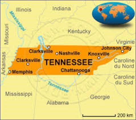 État du sud des États-Unis, le Tennessee entra dans l'Union le 1er juin 1796. Peuplé de 6 346 105 habitants, pour une superficie de 109 247 km² sa capitale fut fondée en 1779 par le colonel américain John Donelson, sous le nom de Fort Nashborough, en hommage au héros de la guerre d'indépendance Francis Nash (1742-1777), tué à la bataille de Germantown. Depuis 1806, quelle nom porte-t-elle ?