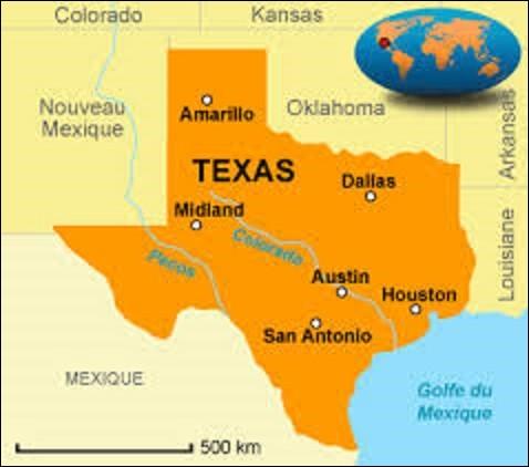 État du sud, le Texas est le deuxième État du pays avec une superficie de 696 241 km². Également second en terme de population estimée à 28 304 596, il y est aussi le plus riche après la Californie. Son économie dynamique repose sur l'élevage, les hydrocarbures, les industries pétrochimiques et les techniques de pointe. Adhérant à l'Union le 29 décembre 1845, quelle est sa capitale depuis 1839 ?