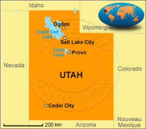 L'Utah est un État de l'ouest connu pour sa grande diversité géologique, avec des montagnes enneigées, des vallées aux fortes rivières et des déserts arides. Accueillant une forte communauté mormone, ces derniers furent les premiers à s'installer en 1847. D'une superficie de 220 080 km², il compte 2 763 885 âmes. Adhérant à l'Union le 4 janvier 1896, quelle ville en est la capitale depuis 1856 ?