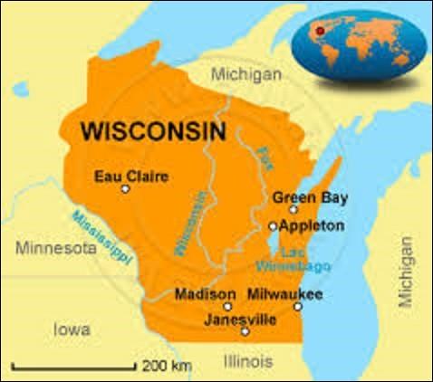 D'une superficie de 169 790 km², comprenant 5 686 986 concitoyens, État du Midwest, le Wisconsin est bordé au nord par le lac Supérieur et le Michigan, à l'est par le lac Michigan, au sud par l'Illinois et à l'ouest par l'Iowa et le Minnesota. Adhérant à l'Union le 29 mai 1848, quelle est sa capitale depuis le 28 novembre 1836 ?