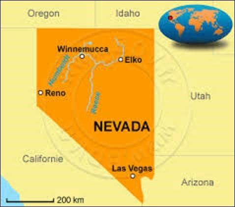 Le Nevada est un État de l'ouest américain. D'une superficie de 286 351 km², il est peuplé de 2 940 058 résidents Devant son nom à la chaîne de montagnes Sierra Nevada, trente-sixième État à rallier les États-Unis le 31 octobre 1864, quelle ville lui sert de capitale ?
