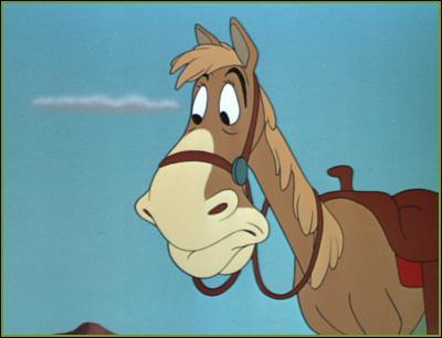 Dans quel Disney ce cheval apparaît-il ?