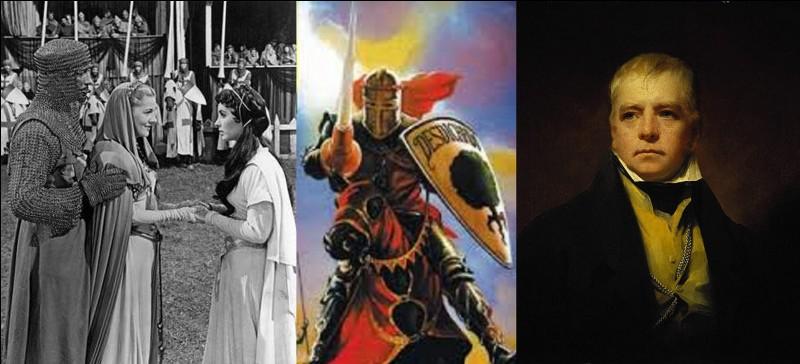 Robert Taylor et Elizabeth Taylor participeront à l'adaptation de ce roman « Ecossais » mettant en scène l'histoire d'un chevalier « déshérité » et d'un roi risquant de perdre son royaume !Quel est ce roman ?