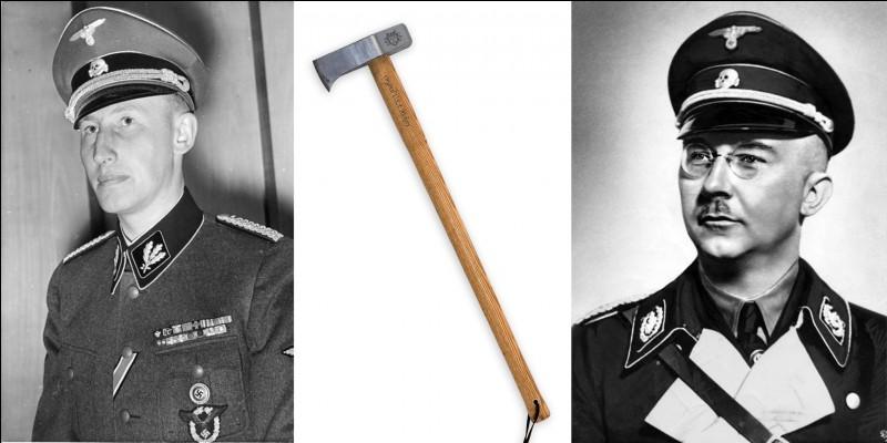 Pour se débarrasser de cet homme, l'auteur fera des allers-retours dans le temps et l'espace. Dans ce livre concernant le « cerveau d'Himmler », on rencontrera trois héros qui élimineront la « bête blonde » !Quel est ce roman ?