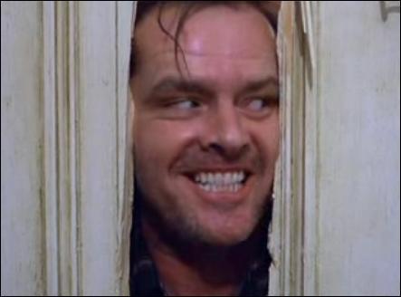 A ce moment-là il dit 'Hi ! It's Joooohnny!' mais il s'appelle ...
