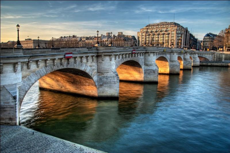 """Cochez la bonne affirmation concernant le """"Pont-Neuf"""" :"""