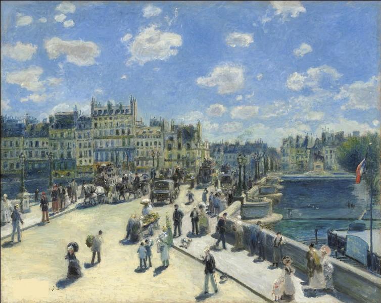 """Qui a peint """"Le Pont-Neuf"""" ?"""