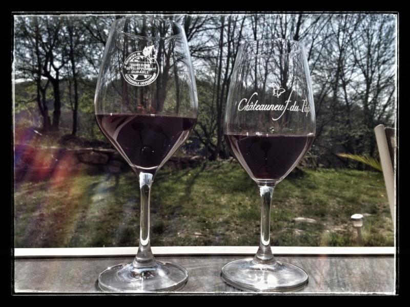 """De quel cru provient le vin nommé """"Châteauneuf-du-pape"""" ?"""