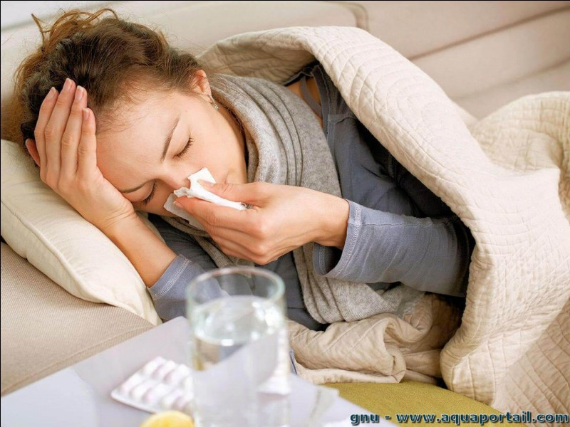 Quand on se mouche tout le temps et qu'on a le nez qui coule, notre maladie est...