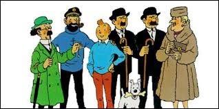 Les albums de Tintin - (1)