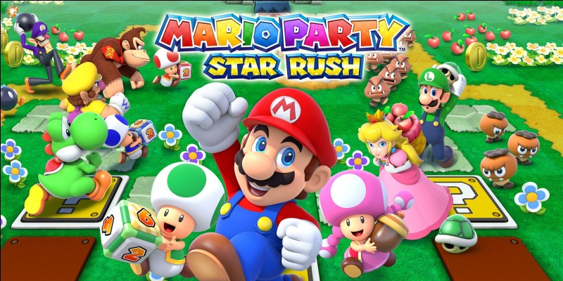 En quelle année, Mario Party Star Rush est-il sorti en France ?