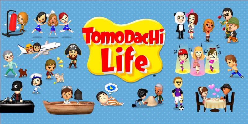 Tomodachi Life est sorti sur quelle console ?