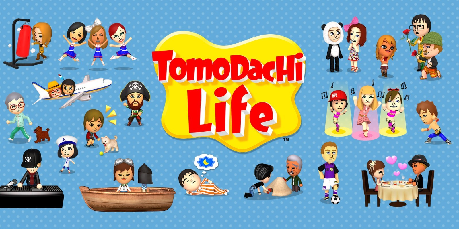 Quiz sur 'Tomodachi Life'