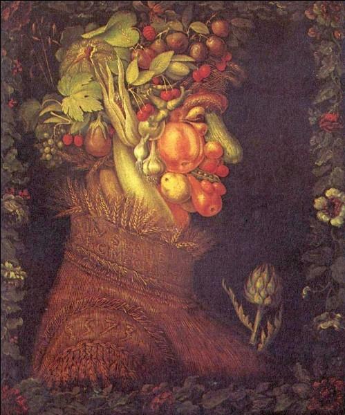 Qui a peint ''Les Saisons'', une série de quatre tableaux représentant les 4 saisons dont l'été, en photo ?