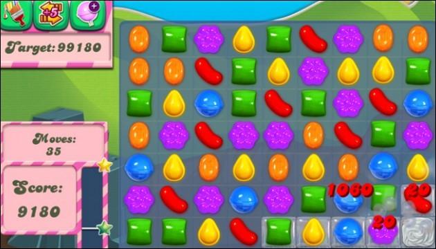 Dans le jeu Candy Crush que faut-il faire disparaître ?