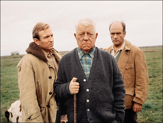 Quel est ce film réalisé par Pierre Granier-Deferre en 1969, dans lequel Gabin tient le rôle d'un propriétaire terrien en Normandie ?