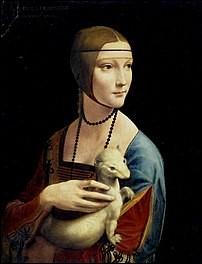 Quel animal est représenté sur cette peinture de Léonard de Vinci ?