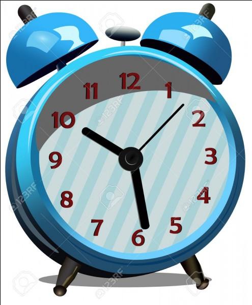 Un vieil homme de la campagne décide de se réveiller très tôt le lendemain. Il prend un réveil mécanique et le règle afin qu'il sonne à 8 heures 30 et il se couche à 20 heures. Combien de temps dormira-t-il ?