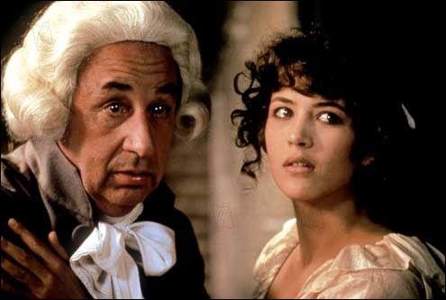 Marie de Verneuil face à Philippe Noiret dans ce film