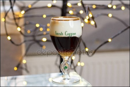 Quel alcool entre dans la composition de l'irish coffee ?