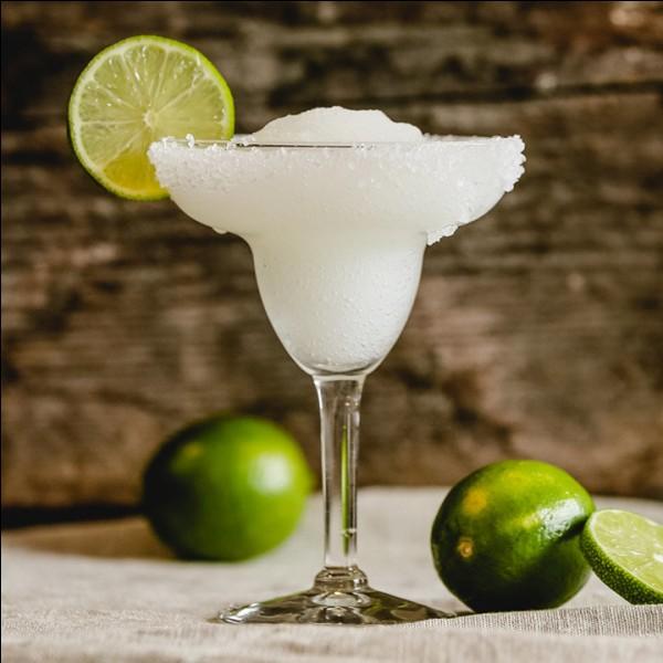 """À la base de quel alcool obtient-on le cocktail """"Margarita"""" ?"""
