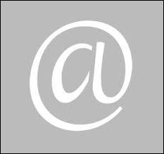 Comment s'appelle ce caractère typographique indispensable dans une adresse e-mail ?