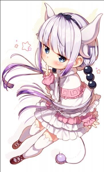 """Dans """"Kobayashi san chi no maid dragon"""", pourquoi Kanna est-elle envoyée dans le monde des humains ?"""