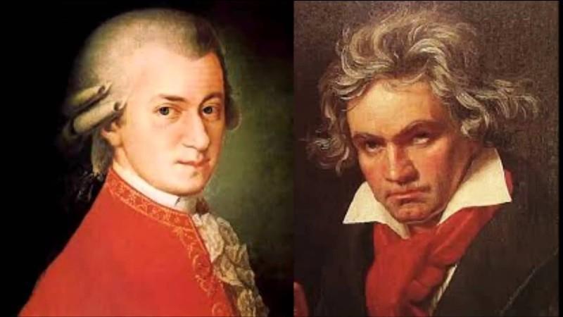 Trouvez l'intrus : Beethoven, Mozart, Molière.