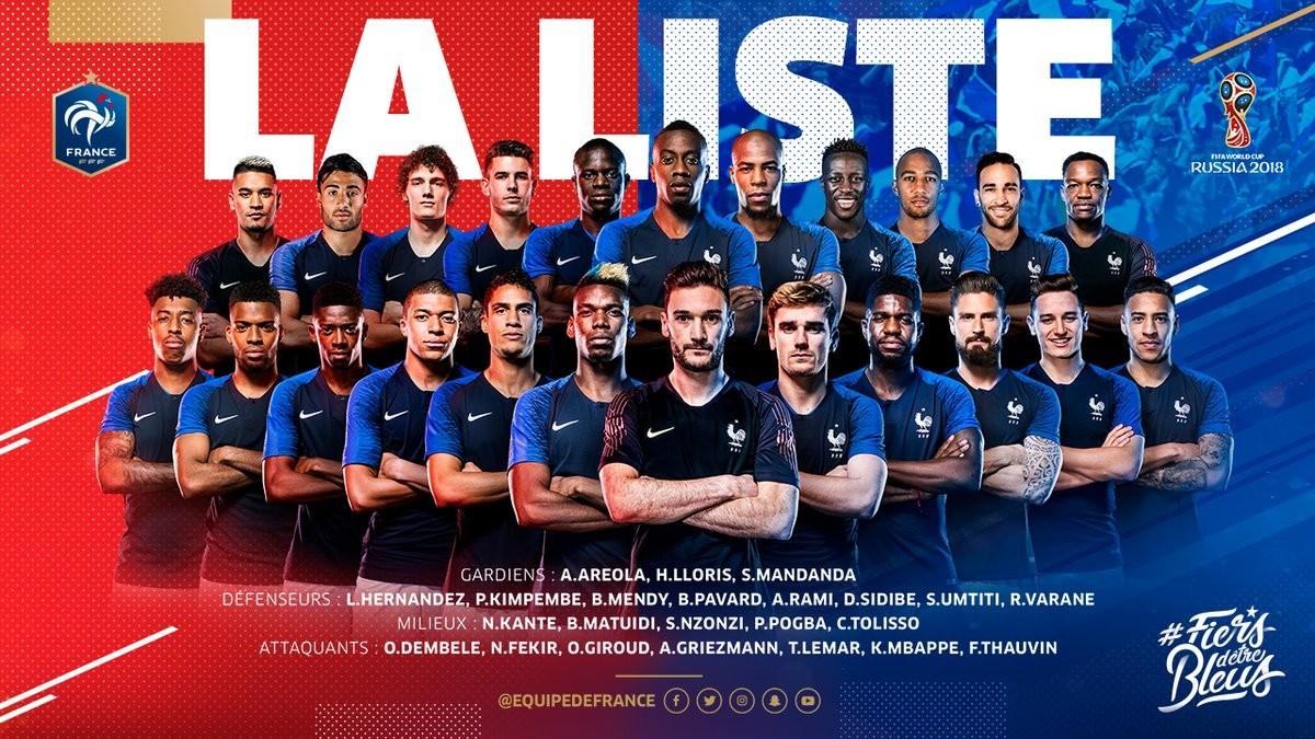 Coupe du monde 2018 - Spécial Bleus