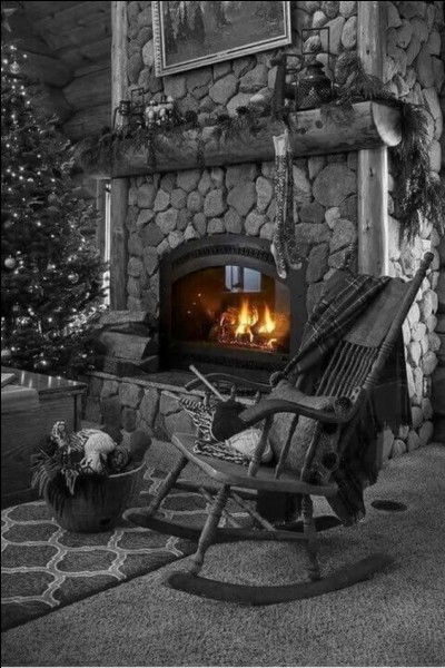 """Complétez les paroles de l'inoubliable chanson : """"Fais du feu dans la cheminée..."""""""