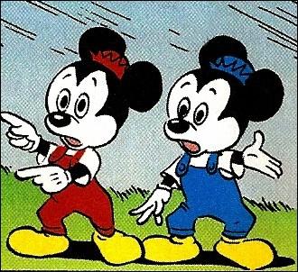 Pensons aux neveux ! Qui sont les neveux de Mickey ?