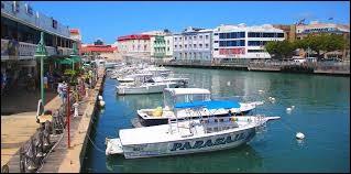 Localisation : Amérique centrale Habitants : 92 328 Climat : tropicalA voir : baie de CarlisleA vu naître : Rihanna Quelle est cette ville ?