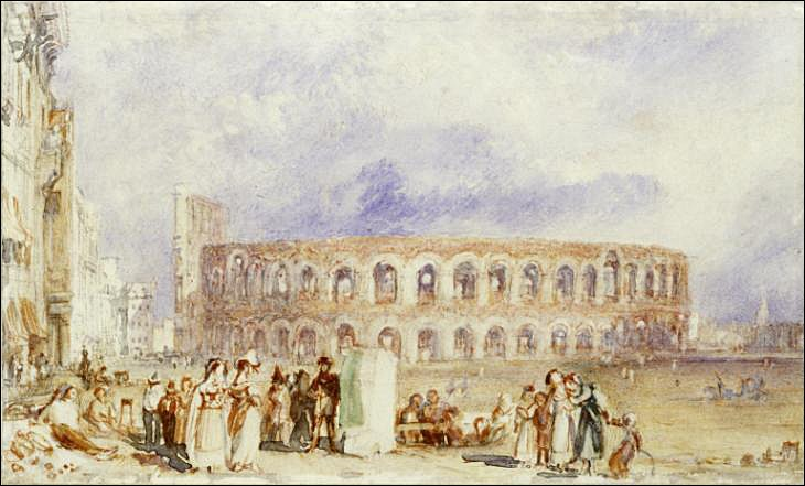"""Tout aussi fameux : le Festival """"Arena di Verona"""" qui a lieu pendant les mois d'été. Mais de quelle discipline s'agit-il ?"""