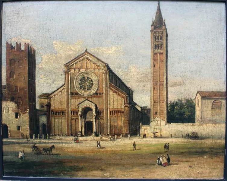 Autre temps fort : une basilique de style roman (XIe), dédiée à un évêque de Vérone (IVe), originaire de l'Afrique et séjournant en tant que moine, saint des églises catholique romain et orthodoxe oriental...