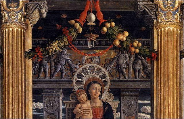 Aussi illustre que la basilique est le retable de son maître-autel créé entre 1456 et 1459 ! Quel artiste de la Renaissance, né à Padoue et décédé à Mantoue, beau-fils de Jacopo Bellini, est son auteur ?
